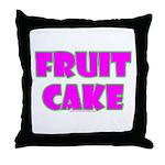 Fruit Cake Throw Pillow