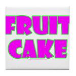 Fruit Cake Tile Coaster