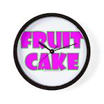 Fruit Cake Wall Clock