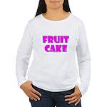 Fruit Cake Women's Long Sleeve T-Shirt
