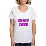 Fruit Cake Women's V-Neck T-Shirt