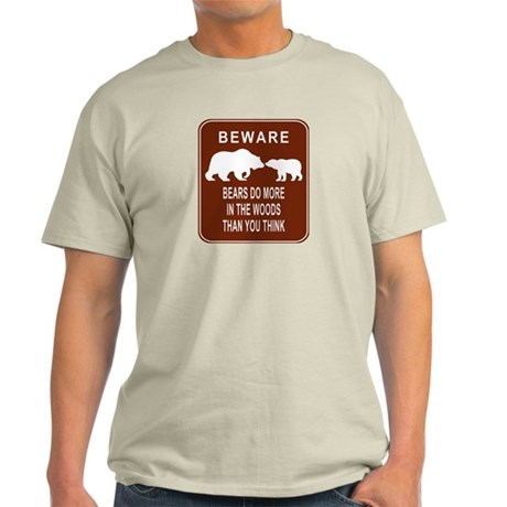 Bears in the Woods Ash Grey T-Shirt