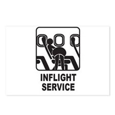 Inflight Service Postcards (Package of 8)
