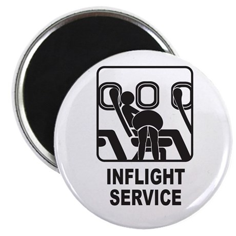 Inflight Service Magnet