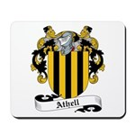 Athell Family Crest Mousepad