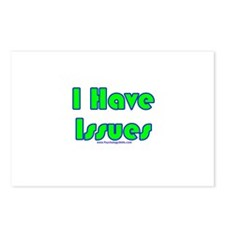 I Have Issues Postcards (Package of 8)