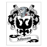 Atheson Family Crest Small Poster