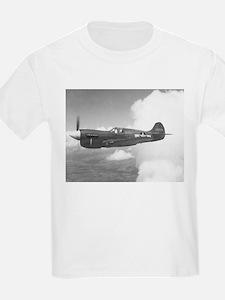 Curtiss P-40 Kids T-Shirt