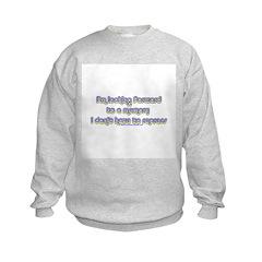 I'm Looking Forward To A Memo Sweatshirt
