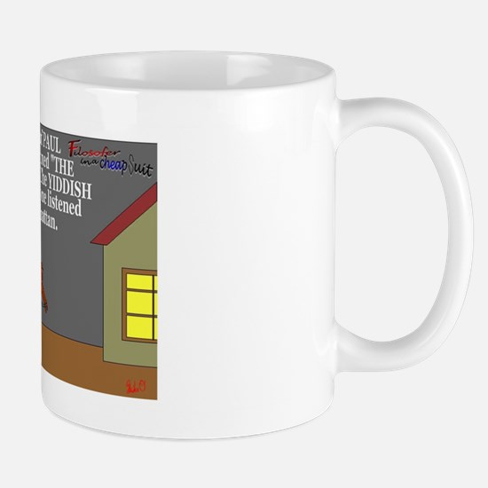The Yiddish are coming! Mug