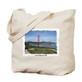 San francisco Canvas Totes