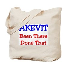 AKEVIT Been There Done That Tote Bag