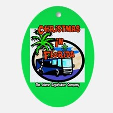 Christmas In Florida Ornament Trailer Park