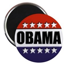 "Obama red white and blue 2.25"" Magnet (100 pa"