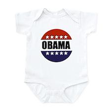 Obama red white and blue Infant Bodysuit