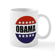 Obama red white and blue Mug