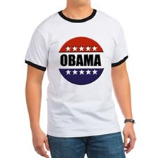 Obama red white and blue T
