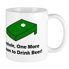 Cornhole and Beer Mug