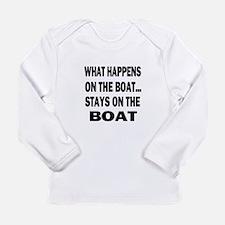 WHAT HAPPENS IPAD 2 Long Sleeve T-Shirt