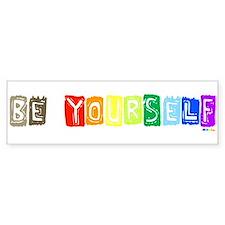 Be Yourself Rainbow 'Pride' Bumper Bumper Bumper Sticker
