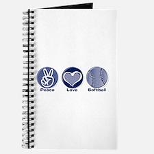 Peace Love Softball Journal