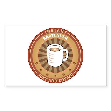 Instant Bartender Rectangle Sticker