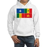 Creole flag Hooded Sweatshirt