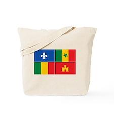 Creole Flag Tote Bag