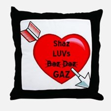 Chavette Luv Throw Pillow