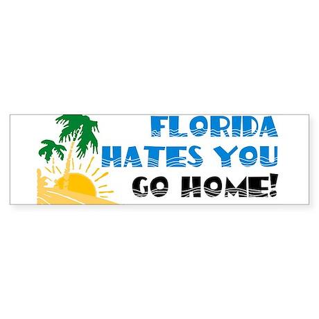 Go Home Bumper Sticker