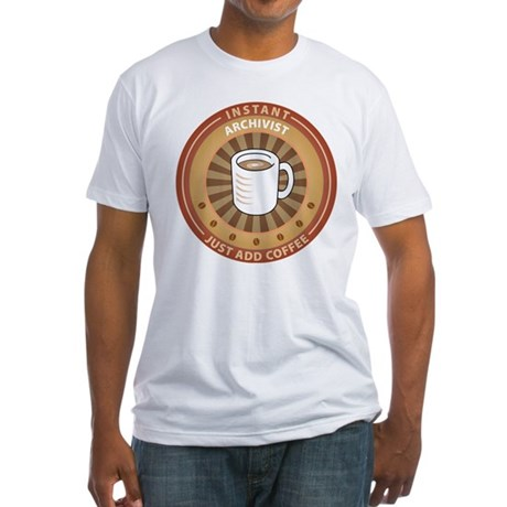 Instant Archivist Fitted T-Shirt