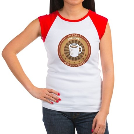 Instant Archivist Women's Cap Sleeve T-Shirt