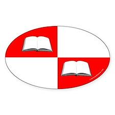 Blaiddwyn Populace Badge Oval Sticker