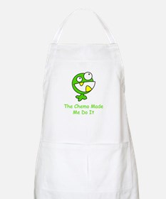 The Chemo Made Me Do It BBQ Apron