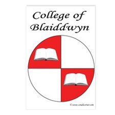 Blaiddwyn Populace Badge Postcards (Package of 8)