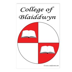 Blaiddwyn Populace Badge Postcards (Package of 8)