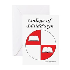 Blaiddwyn Populace Badge Greeting Cards (Pk of 20)