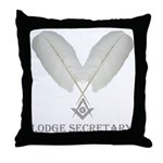 Masonic Secretary Throw Pillow