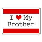 I Heart My Brother Banner