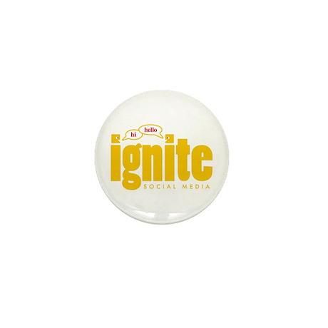 Ignite Social Media Logo - Mini Button (10 pack)