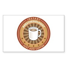 Instant Anesthesiologist Rectangle Sticker 50 pk)
