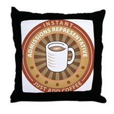 Instant Admissions Representative Throw Pillow