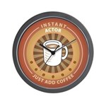Instant Actor Wall Clock