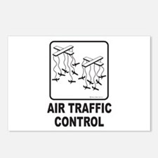 Air Traffic Control Postcards (Package of 8)