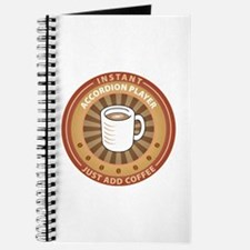 Instant Accordion Player Journal