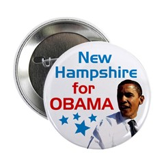 New Hampshire for Obama campaign button