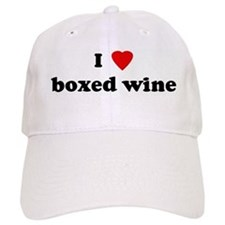 I Love boxed wine Baseball Cap