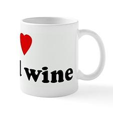 I Love boxed wine Mug