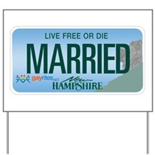 New Hampshire Marriage Equality Yard Sign