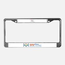 California GayRites License Plate Frame